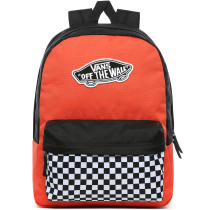 Buy WM Realm Backpack Paprika/Checkerboard