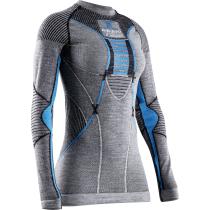 Achat Wmn X-B Apani 4.0 Merino Shirt Rn Lg Sl Black/Grey/Turquoise