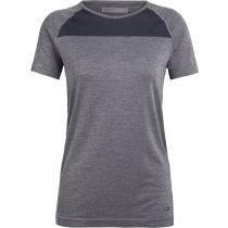 Buy Wmns Motion Seamless SS Crewe Panther Heather
