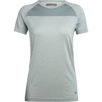 Buy Wmns Motion Seamless SS Crewe Shale Heather