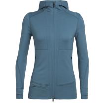 Compra Wmns Quantum II LS Zip Hood Blue Spruce