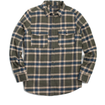 Achat Wmns The Responsible Flannel Dark Olive