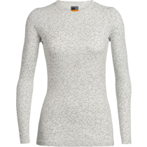 Buy Wmns 200 Oasis LS Crewe Sky Paths Snow