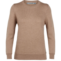 Achat Wmns Muster Crewe Sweater Camel Heather