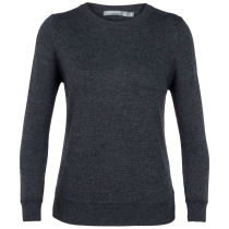 Kauf Wmns Muster Crewe Sweater Char Heather