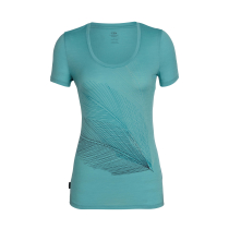 Buy Wmns Tech Lite SS Scoop Plume Ocean