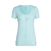 Achat Wmns Tech Lite SS Scoop Solo Aqua Splash