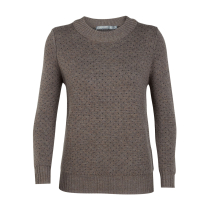 Achat Wmns Waypoint Crewe Sweater Toast Heather/Char Heather