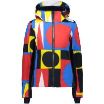 Acquisto Woman Jacket Zip Hood B.Blue/Ferrari/Yellow