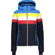 Acquisto Woman Jacket Zip Hood Black/Blue