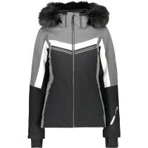 Achat Woman Jacket Zip Hood Nero