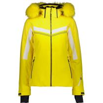 Acquisto Woman Jacket Zip Hood Yellow