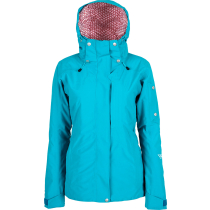 Buy Women Corpus Insulated Stretch Jacket Teal Green
