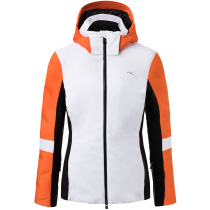 Buy Women Formula Jacket White/Kjus Orange