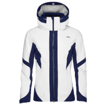Buy Women Laina Jacket White/Atlanta Blue