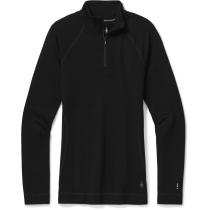 Acquisto Women's Merino 250 Base Layer 1/4 Zip Black