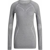 Achat Wool Tech Longsleeved Shirt Regular W Grey Heather