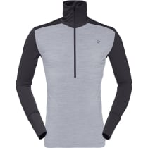 Compra Wool Zip Neck M Mid Grey