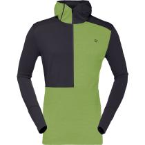 Buy Wool Hoodie M Bamboo Green Charcoal