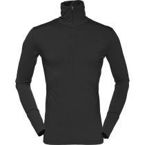 Achat Wool Zip Neck (M) Caviar