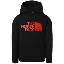 Compra Y Drew Peak P/O Hoodie Tnf Black/Red Orange