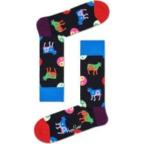 Acquisto Ying Yang Cow Sock Noir