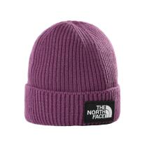 Buy Youth Tnf Box Logo Cuff Beanie Pikes Purple