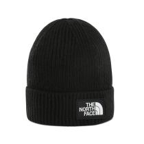 Buy Youth Tnf Box Logo Cuff Beanie Tnf Black