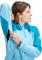 Convey Tour HS Hooded Jacket Women Whisper Ocean
