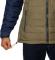 Powder Lite Hooded Jacket M Stone Green Fossil Collegiate Navy