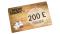 Carte cadeau virtuelle 200€