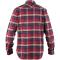 Singi Heavy Flannel Shirt Deep Red