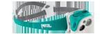 frontale Petzl Tikka R+ Bleu Turquoise