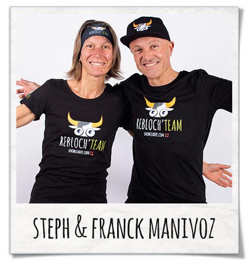 Stephanie et Franck Manivoz