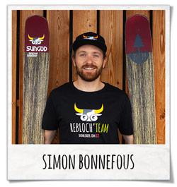 Simon Bonnefous Rebloch Team Snowleader