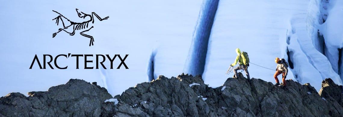 Bannière guide des tailles Arc'Teryx