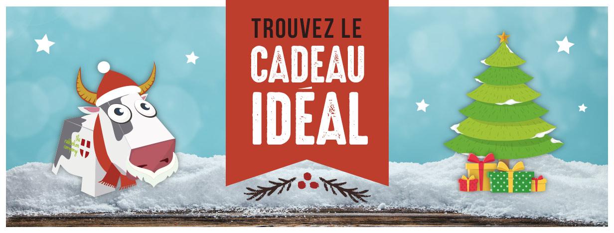 Bannière boutique cadeaux de noel snowleader desktop