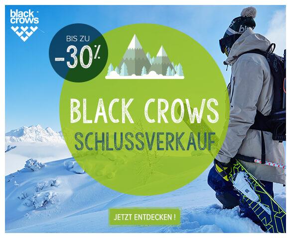 Black Crows schlussverkauf: bis zu -30%!