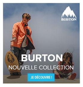 Découvrez la nouvelle collection Burton !
