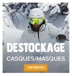 Profitez du destockage Snowmeader sur les casques et masques !