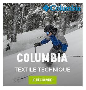 Textile technique Columbia, Homme, femme et enfant !