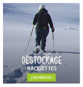 Déstockage raquettes Snowleader