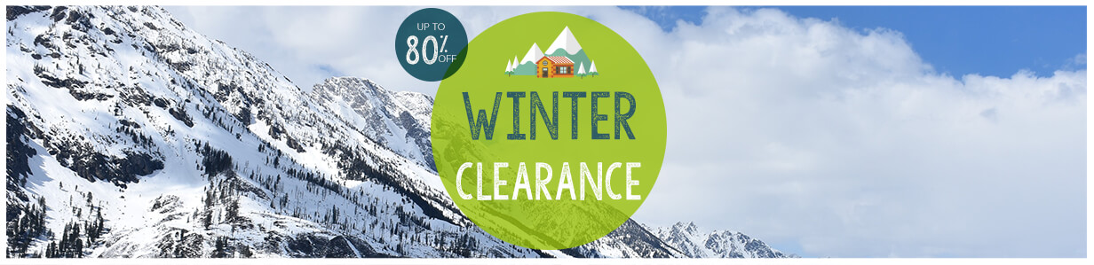 Winter clearance !