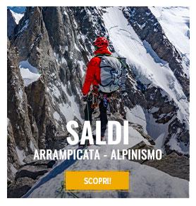 Saldi sopra arrampicata e alpinismo : fino a -50% !