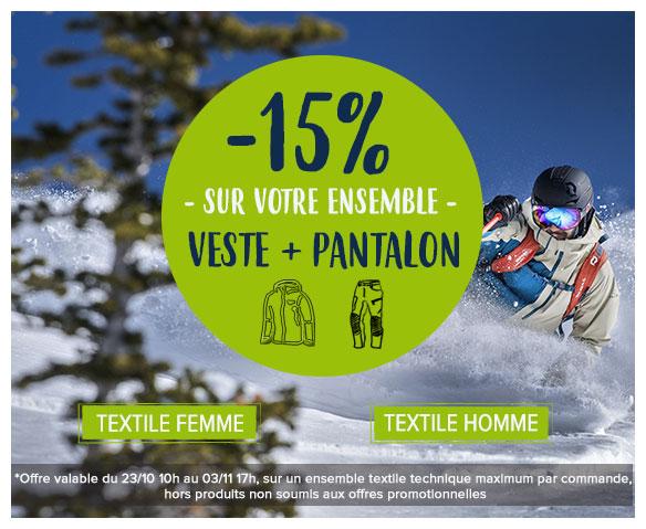 -15% sur votre ensemble veste + pantalon