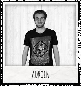 Adrien préparateur de commandes