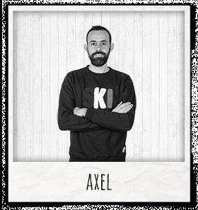 Axel acheteur textile