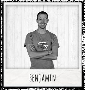 Benjamin responsable entrepôt