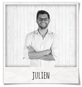 Julien responsable marketing