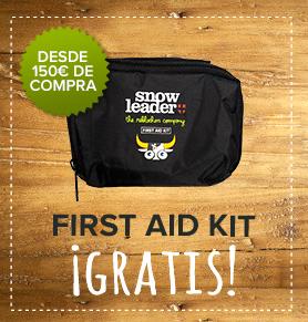 First Aid Kit gratis desde 150€ de compra